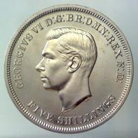 GRAN BRETAGNA 1 Crown - 5 Shillings Festival Of Britain 1951   Prooflike   QFDC - L. 1 Crown