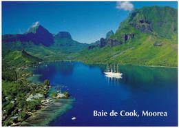 1 AK Moorea Island / Französisch Polynesien * Cook's Bay On Moorea Island - French Polynesia * - French Polynesia