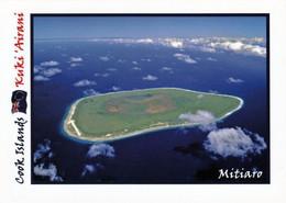 1 AK Cook Islands * Blick Auf Mitiaro  - Auch Nukuroa Genannt - Die Viertgrößte Der Südlichen Cookinseln * - Cook Islands