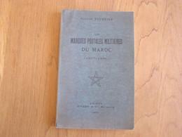 LES MARQUES POSTALES MILITAIRES DU MAROC G Tournier Marcophilie Philatélie Cachet Colonie Française France Marine Armée - Other Books