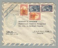 1955 LETTRE DE L'INSTITUT ANTARCTIQUE ARGENTIN ADRESSÉE À PAUL-ÉMILE VICTOR, DIRECTEUR DES EPF - Brieven En Documenten