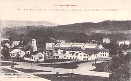31 - SALIES Du SALAT : Nouveaux Thermes Salins Et Puits De Sondage - CPA Village ( 1.816 Habitants) - Haute Garonne - Salies-du-Salat