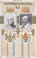 AK Souvenir Austrian Exhibition 1906 - Earls's Court London - Kaiser Franz Josef - King Edward VII (55196) - Case Reali