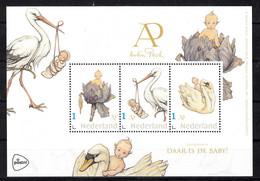 Nederland 2021 Persoonlijke Zegels PostNL : Anton Pieck, Daar Is De Baby, Baby, Stork, Swan - Unused Stamps