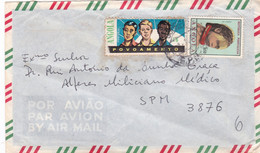 1$50-ANGOLA-E.P.M-6 Com Selo De Povoamento - Angola