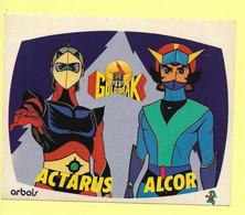 AUTOCOLLANT - STICKER - ARBOIS - GOLDORAK - ACTARUS - ALCOR - ANTENNE 2 - Stickers