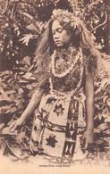 Océanie - TONGA - Jeune Fille Tongienne - Pin-up - Tonga