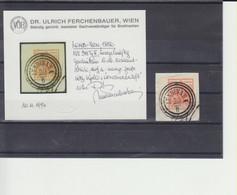 Lombardei Und Venetien 3H Typ III Auf Briefstück (mit Fotoattest) - Sin Clasificación
