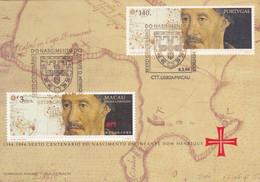 SEXTO CEN. DO NASCIMENTO DO INFANTE DOM HENRIQUE-PORTUGAL -MACAU - Brieven En Documenten