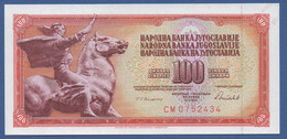 YUGOSLAVIA - P.90c – 100 Dinara 1986 - UNC  Prefix CM - Jugoslavia