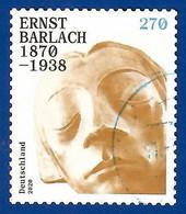 BRD 2020  Mi.Nr. 3521 , Ernst Barlach 1870-1938 - Selbstklebend / Self-adhesive - Gestempelt / Fine Used / (o) - Used Stamps