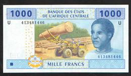 КАМЕРУН 1000  2002 UNC - Cameroon