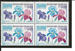 France B4 YT 1597 Floralies N** - Ongebruikt