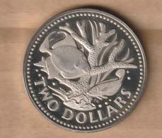 BARBADOS 2 Dollars 1975  Copper-nickel • 20 G • ⌀ 37 Mm KM# 15 - Barbados