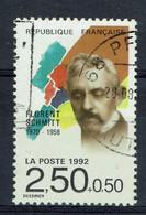 France, Florent Schmitt, Compositeur Français, 1992, Obl, TB - Used Stamps