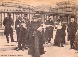 Le Paris De Mort à Crédit - Carte Publicitaire Du Cercle Français Du Livre, 1966 - Escritores