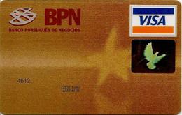 PORTUGAL - Banco Português De Negócios - Credit Cards (Exp. Date Min. 10 Years)