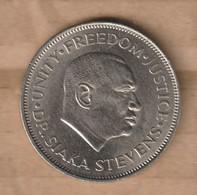 SIERRA LEONA  1972 50 Cents 1972 Copper-nickel • 11.6 G • ⌀ 30 Mm KM# 25 - Sierra Leone
