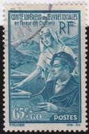 France    .   Y&T    .   417      .       O    .     Oblitéré    .     /   .   Cancelled - Gebruikt