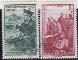 France    .   Y&T    .     474/475       .       O    .     Oblitéré    .     /   .   Cancelled - Oblitérés