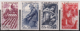 France    .   Y&T    .     823/826     .       O    .     Oblitéré    .     /   .   Cancelled - Gebruikt