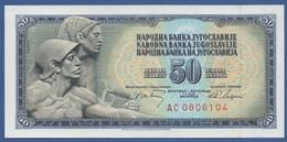 YUGOSLAVIA - P.83c – 50 Dinara 1968 - UNC  Prefix AC - Jugoslavia