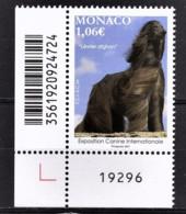 MONACO 2021 - EXPOSITION CANINE INTERNATIONALE 2021 - NEUF ** - Nuevos