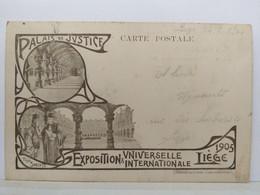 Liège. Exposition Universelle. 1905. Palais De Justice. Théo Smeets - Liège