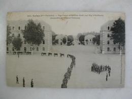 MILITARIA - TARBES - Rue Carnot Et Quartier Soult (24ème Régiment D'artillerie) - Inspection Du Général Trémeau - Casernas
