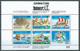 Guernesey Bloc-feuillet YT N°19 Opération Astérix (Texte En Français) Neuf ** - Guernsey