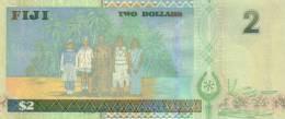 FIJI P. 104a 2 D 2002 UNC - Fiji