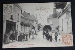 Saint- Branchs - Rue Principale - Autres Communes
