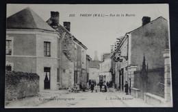 Parcay Rue De La Mairie - Autres Communes