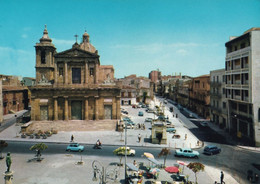 Gela - Piazza Umberto I° - Formato Grande Non Viaggiata – FE190 - Gela