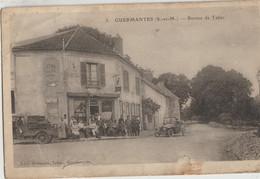 Guermantes  77  Café-Bureau De Tabac (FRANCOIS) Avec Sa Terrasse Tres Tres Animée-Voiture Et Livreur En Camionnette - Otros Municipios