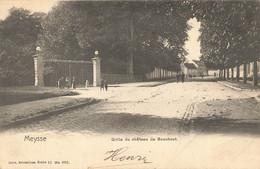 MEYSSE - Grille Du Château De Bouchout - Carte Circulé En 1903 - Meise
