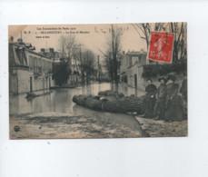CPA -  Les Inondations De Paris 1910 - Billancourt - La Rue De Meudon - Boulogne Billancourt