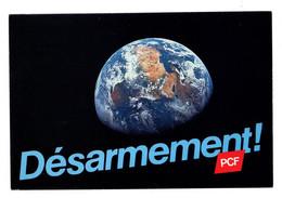 CPM Publicité Syndicalisme Désarmement PCF Circulee En 1983 - Labor Unions