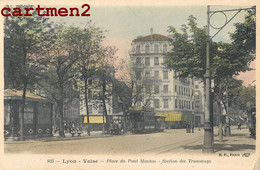 LYON VAISE PLACE DU PONT MOUTON STATION DES TRAMWAYS 69009 RHONE - Lyon 9