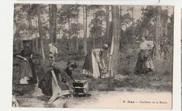 40-CPA Dax - Cueillette De La Résine (belle Scène)   ANIMEE NON CIRCULEE - Unclassified