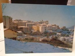 Cartolina Rogliano Prov Cosenza Scorcio Del Paese Con La Neve - Cosenza