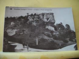 24 9440 CPA  - 24 BRANTOME. ROCHERS SURPLOMBANT LA ROUTE DE BOURDEILLES - EDITEUR L'HIRONDELLE - ANIMATION - Brantome