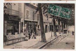 CPA -83- Draguignan - Boulevard De La Liberté CIRCULEE  ANIMEE - Draguignan