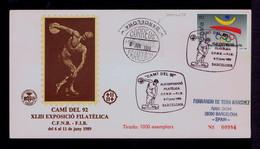 """""""Discobolo"""" CAMI Del 92 CFNB-FIB Statuary Sports Spain Barcelona 1989 Sp7503 - Sin Clasificación"""
