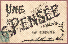 N°8918 Z -cpa Une Pensée  De Cosne - Cosne Cours Sur Loire