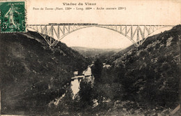 N°8911 Z -cpa Viaduc Du Viaux - Structures