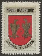 Danemark 1940-42 NØRRE RANGSTRUP Vignette Cinderella From Jensen's Arms Series Fine NH - Otros