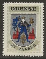 Danemark 1940-42 ODENSE Vignette Cinderella From Jensen's Arms Series Fine NH - Otros