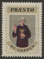 Danemark 1940-42 PRÆSTO Vignette Cinderella From Jensen's Arms Series Fine NH - Otros