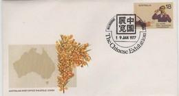Australia PM 506  1977 The Chinese Exhibition  ,FDI, Souvenir Cover - Poststempel